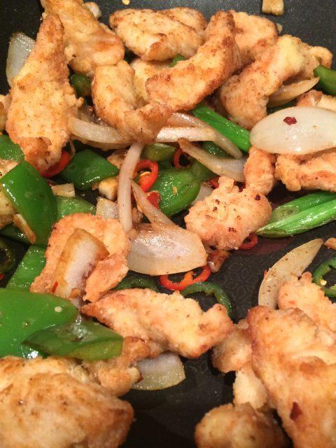 chicken in salt and chilli