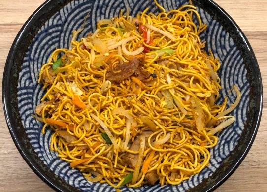 Char Siu Chow Mein (Singapore Style)